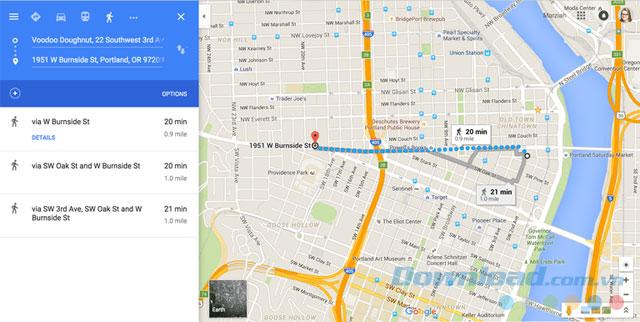 Google Map chỉ đường