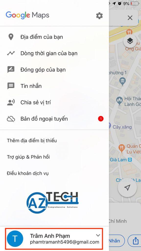 đánh dấu địa điểm trên google map