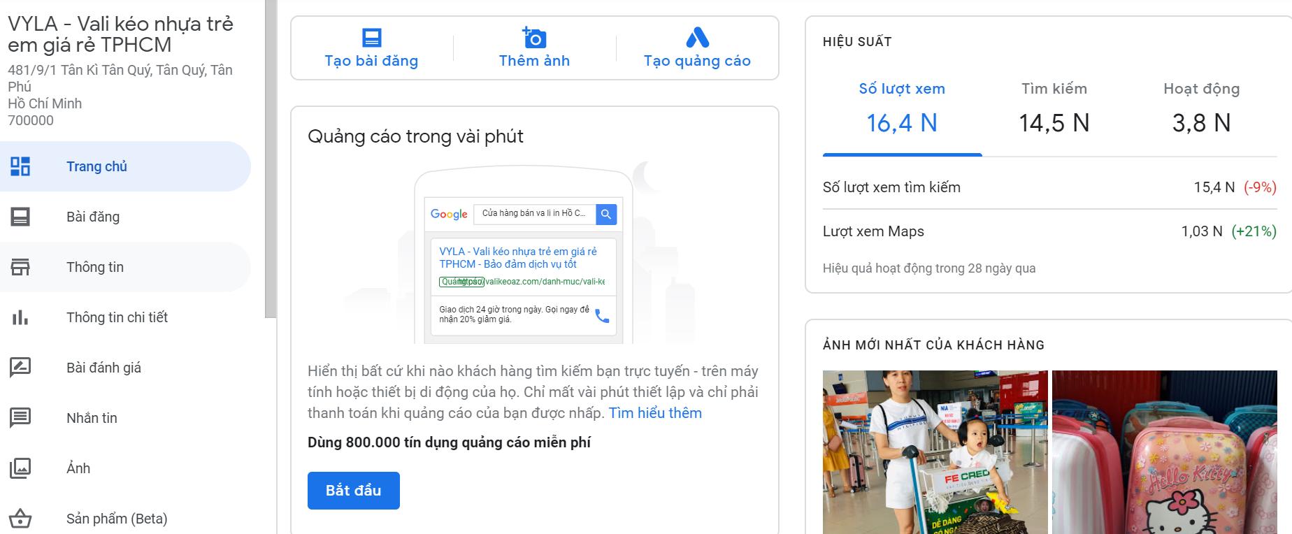 seo google địa điểm top 1 nhanh nhất hiệu quả